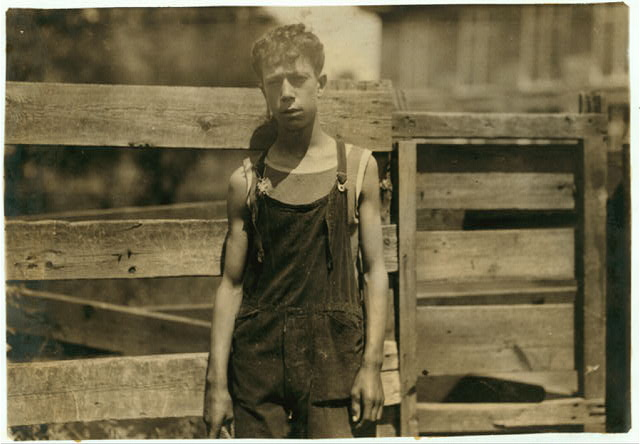 Fred Fowner - 74 Londsdale. Doffer in Union Mill - 15 years old. Doffer two years. $7.74 a week.  Location: Fall River, Massachusetts