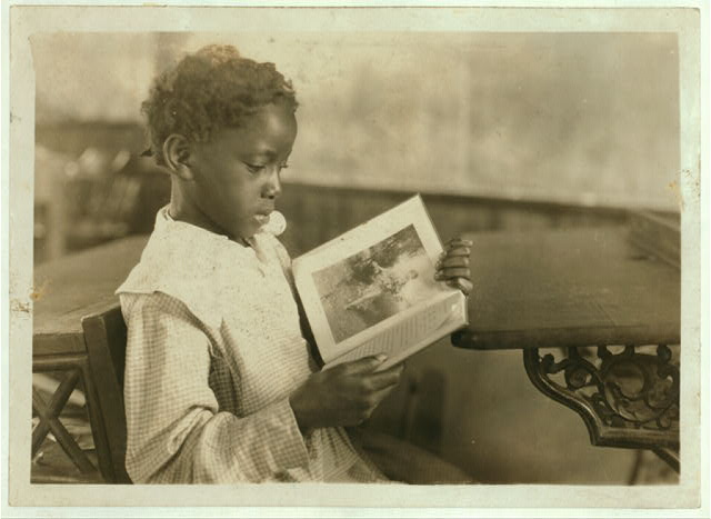 A Pupil in Pleasant Green School - Pocahontas Co. (See Photo No. 6.)  Location: Pocahontas County--Marlinton, West Virginia