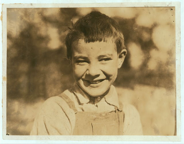 One of the pupils in the Caesar Mt. School. See Photo No. 23.  Location: Pocahontas County, West Virginia