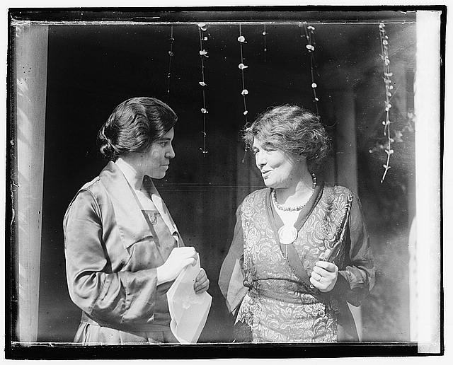Alice Paul and Mrs. Pethick-Laurence
