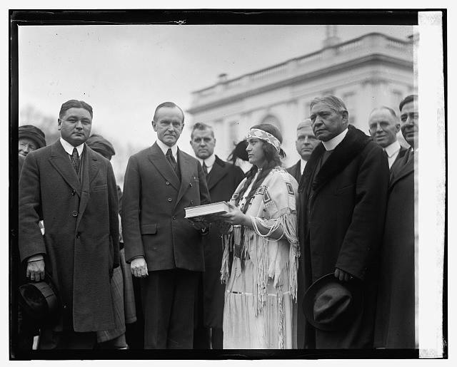 Coolidge and Indian group, 12/12/23
