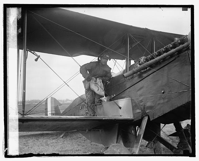 Cap. A.J. Eagle expirimenting at Bowling Field, 10/30/24