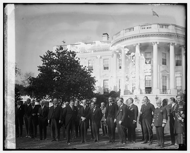 Gen. P.E. Calles at White H. with Coolidge, [10/31/24]