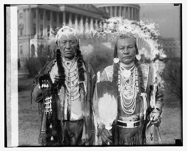 Indian chiefs of the Yakima Tribe of Washington State, 1/17/27