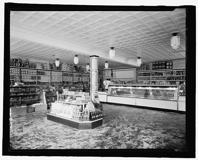 Interior of D.G.S. Store, 7 & E. St., S.W., Wash., D.C.