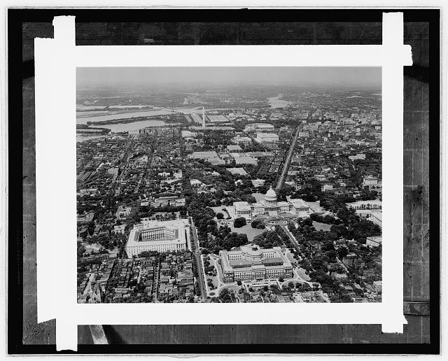 Air view of Wash., D.C.