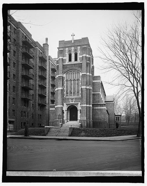St. Andrew's Episcopal [Church, 1511 V Street, N.W., at New Hampshire Avenue, Washington, D.C.]