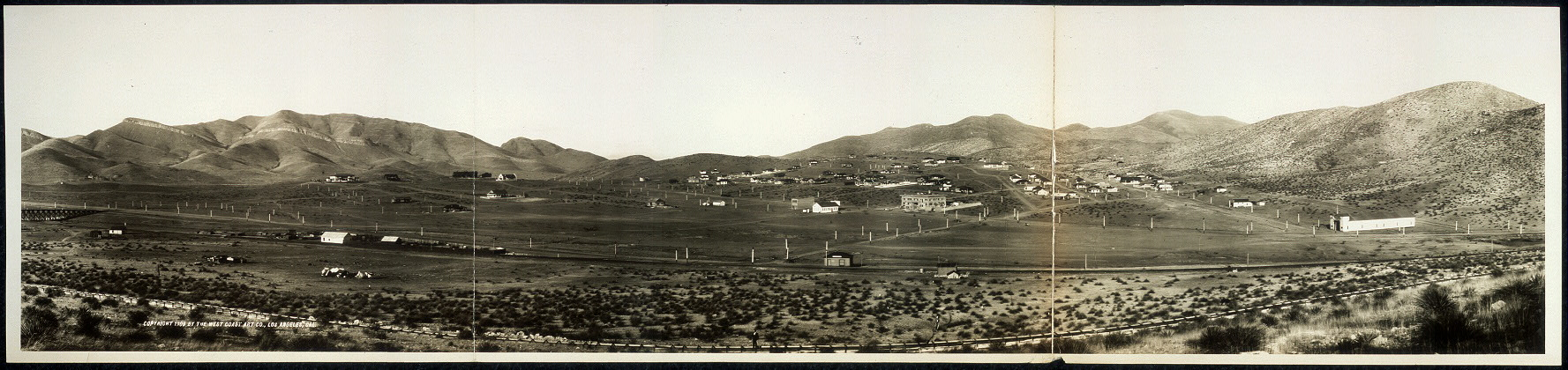 Panorama of Warren, Arizona
