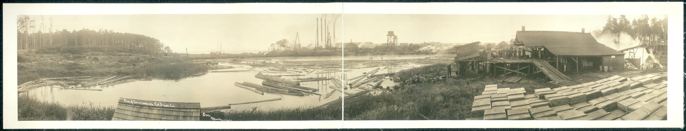 View of Union Lumber Co., Fort Bragg, Cal.