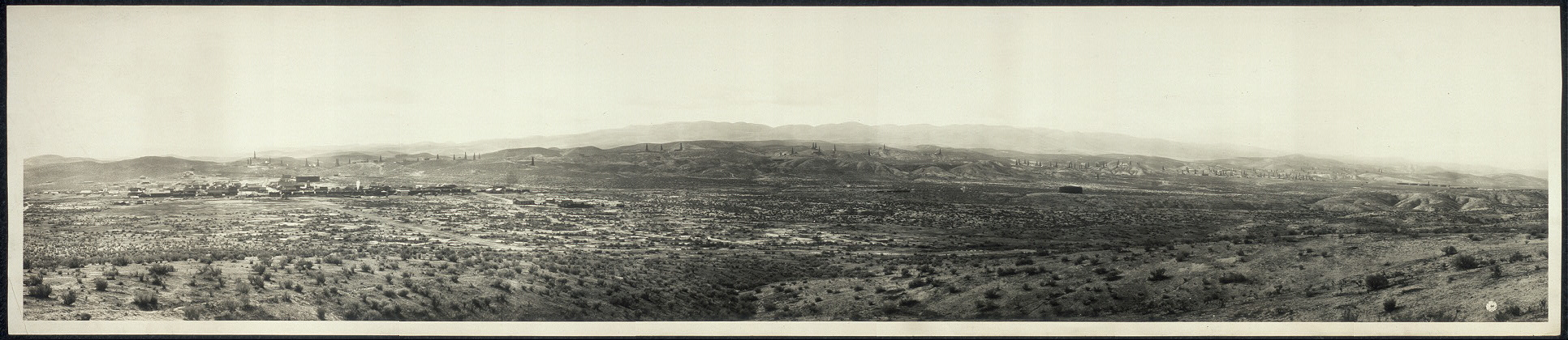 McKittrick and oil field