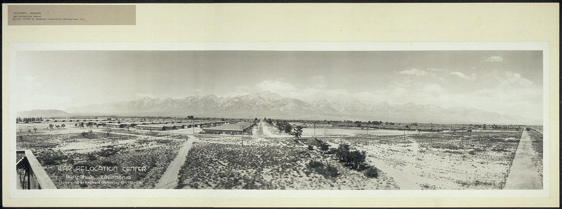 War Relocation Center, Manzanar, California
