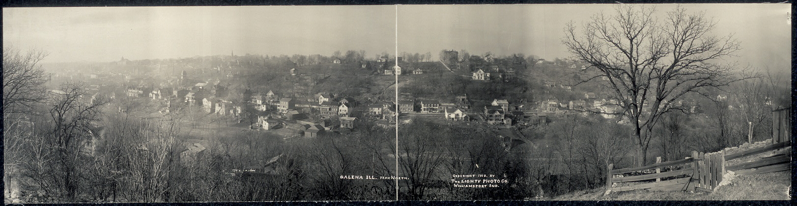 Galena, Ill. from north