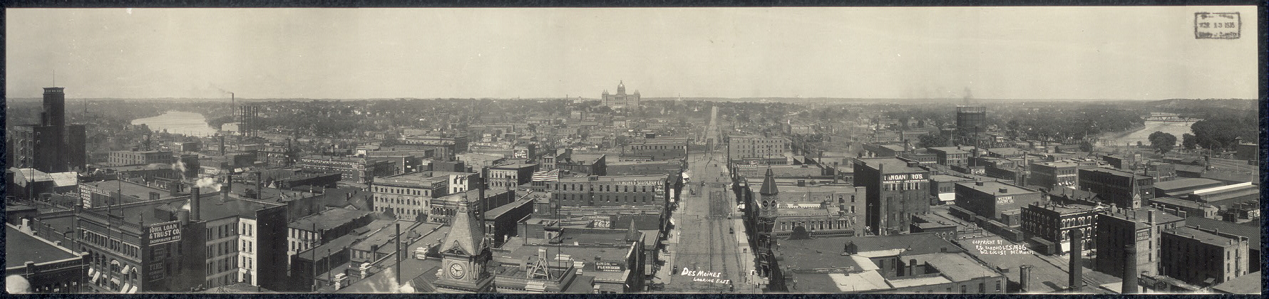 Des Moines, looking east