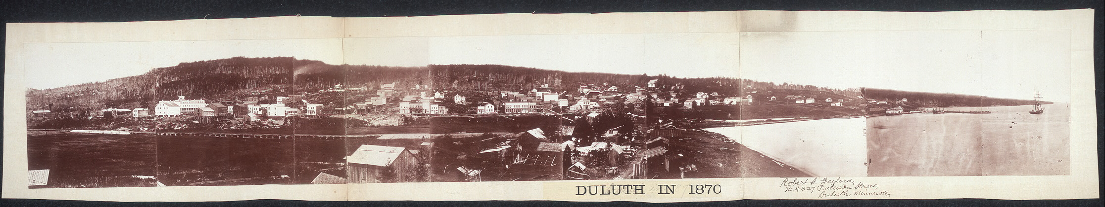 Duluth in 1870