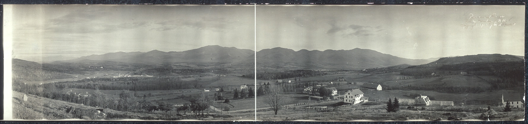 [Franconia Range from Sugar Hill, White Mountains, New Hampshire]