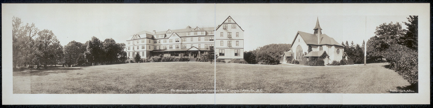 The Normal and Collegiate Institute and campus, Asheville, N.C.