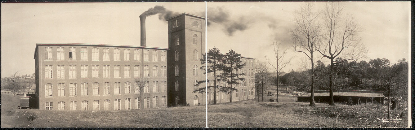 Arkwright Cotton Mill, Spartanburg, S.C.