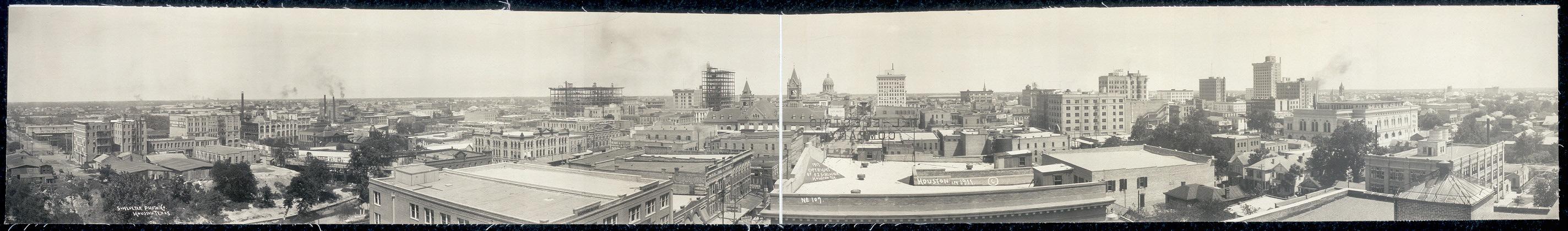 Houston in 1911