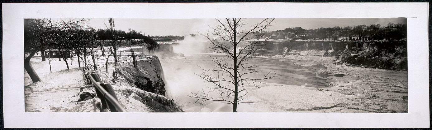 [Niagara Falls, general view from Hennepin Point, winter]