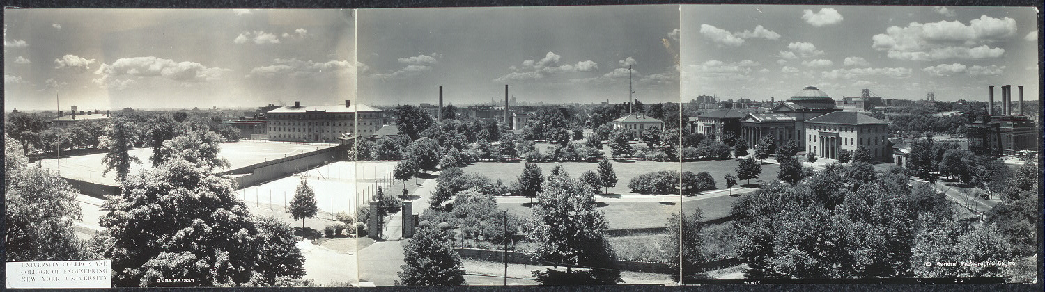 University College and College of Engineering, New York University, June 23, 1937