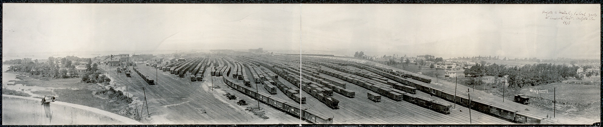 Norfolk and Western Ry. Co. Coal Yards, at Lamberts Point, Norfolk, Va.
