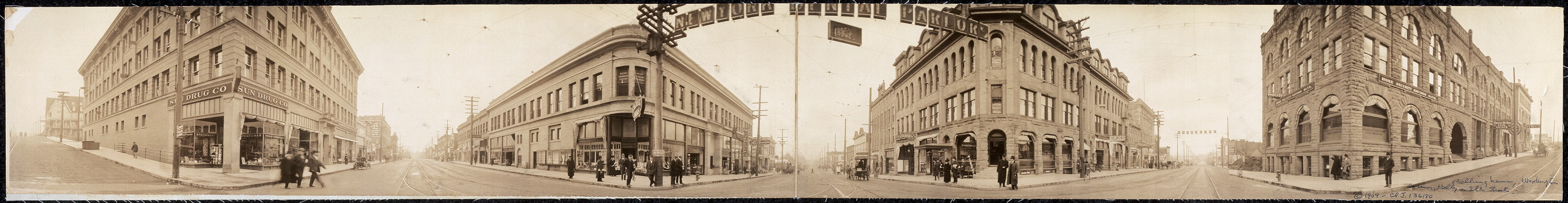 [Bellingham, Washington, corner Holly & Elk Streets]