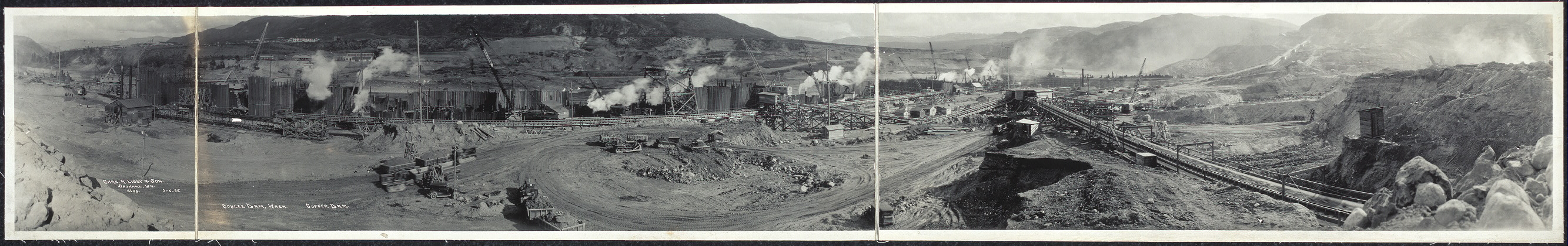 Coulee Dam, Wash., Coffer Dam