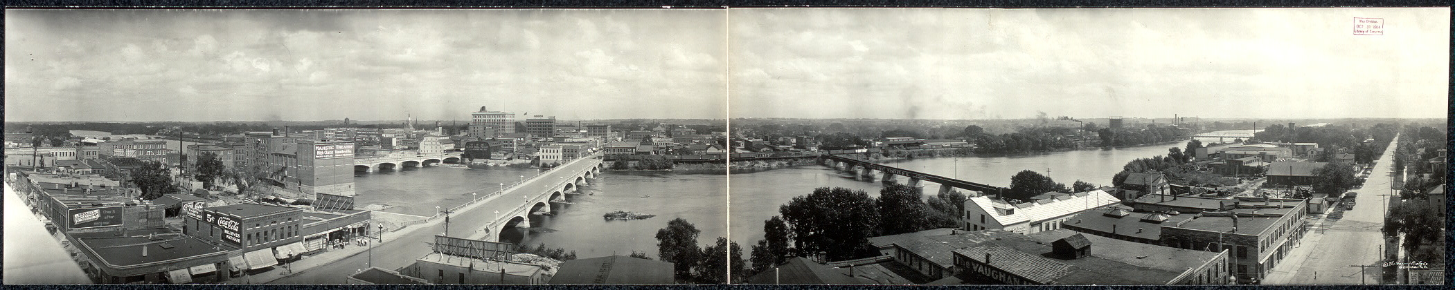 Panorama of Waterloo, Iowa