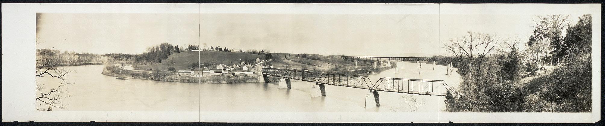 Horse Shoe Bend, Potomac River