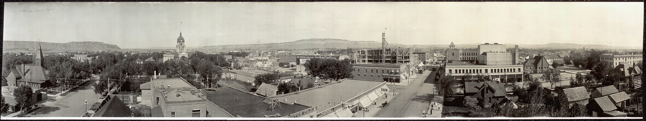 Panoramic view of Billings, Montana