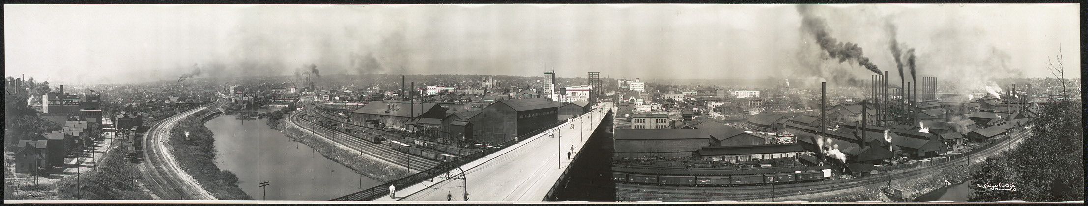Panoramic view of Youngstown, O.
