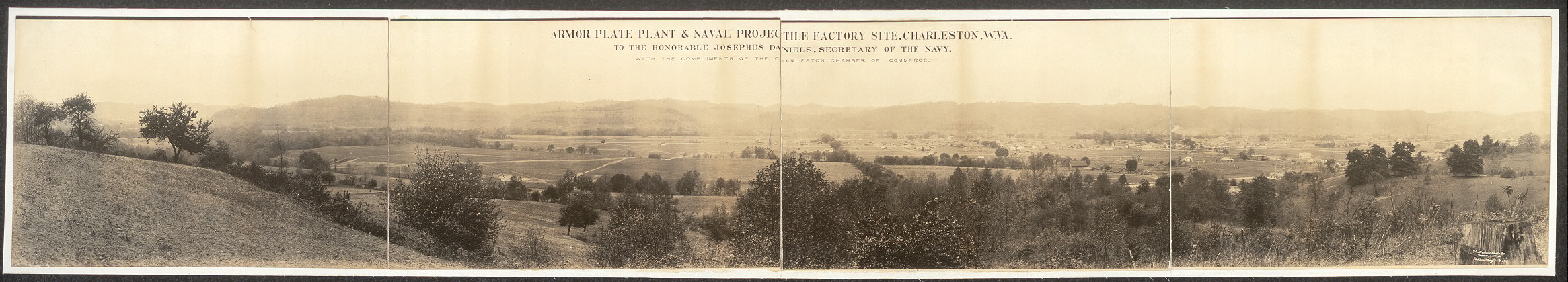 Armor Plate Plant & Naval Projectile Factory site, Charleston, W. Va.