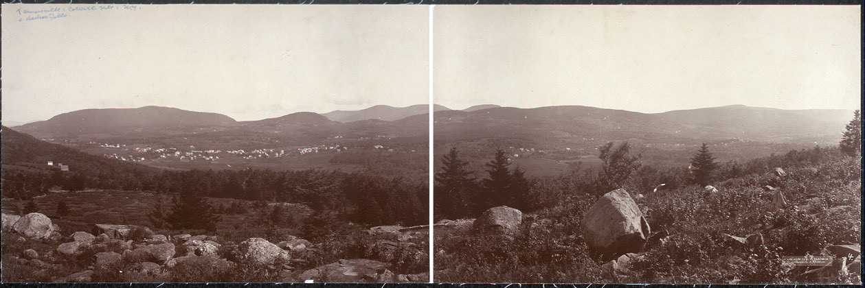 Tannersville & Haines Falls, Catskill Mts., N.Y.