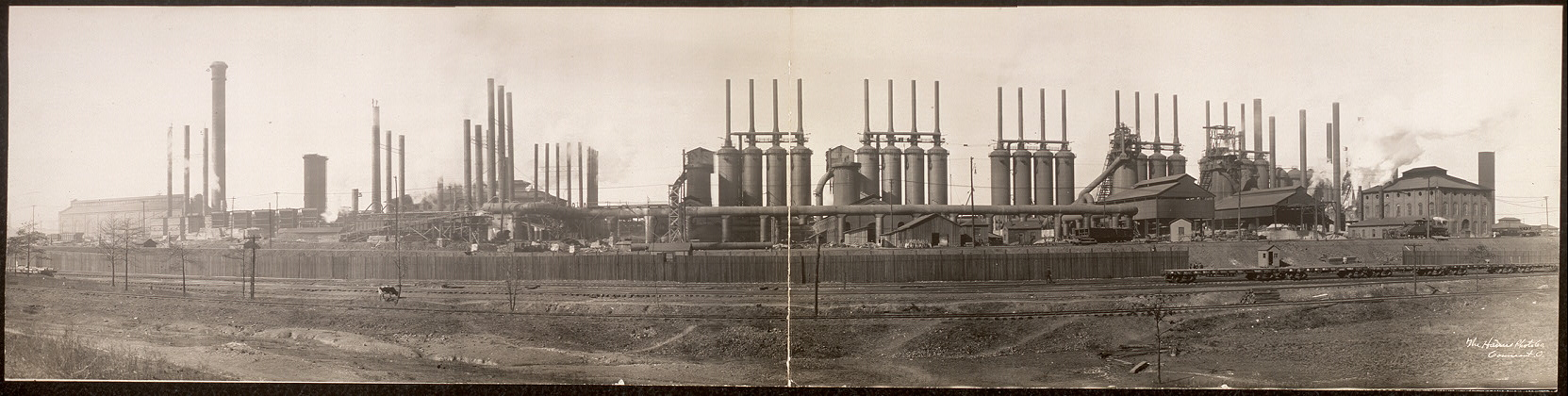 Tenn. Coal Iron & R.R. Co.'s furnaces at Ensley, Birmingham, Ala.