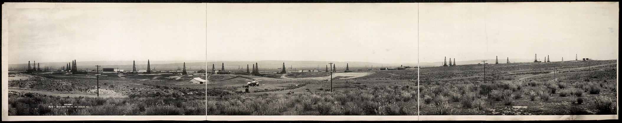 Hale - McLeod oil property, Kern River field, Calif., Oct. 5th 1911
