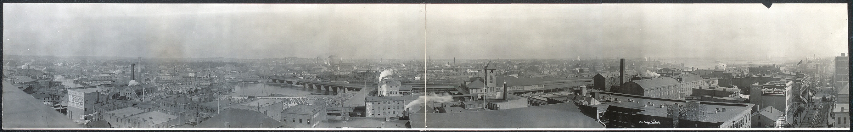 Panoramic view of Bridgeport, Conn.