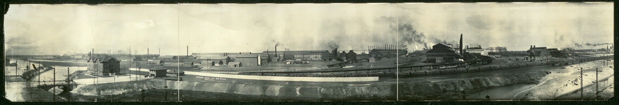 Indiana Steel Co.'s big mills, Gary, Ind.
