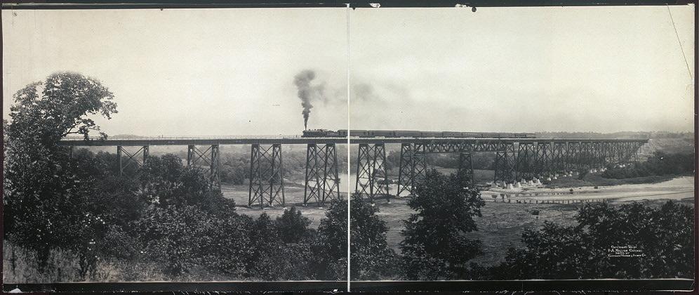 [High Bridge, Chicago, Milwaukee & St. Paul Ry.]
