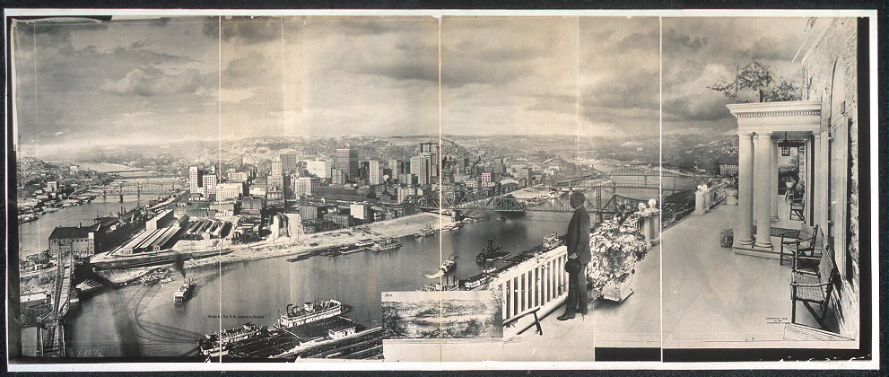 [Official sesqui-centennial photograph of Pittsburgh]