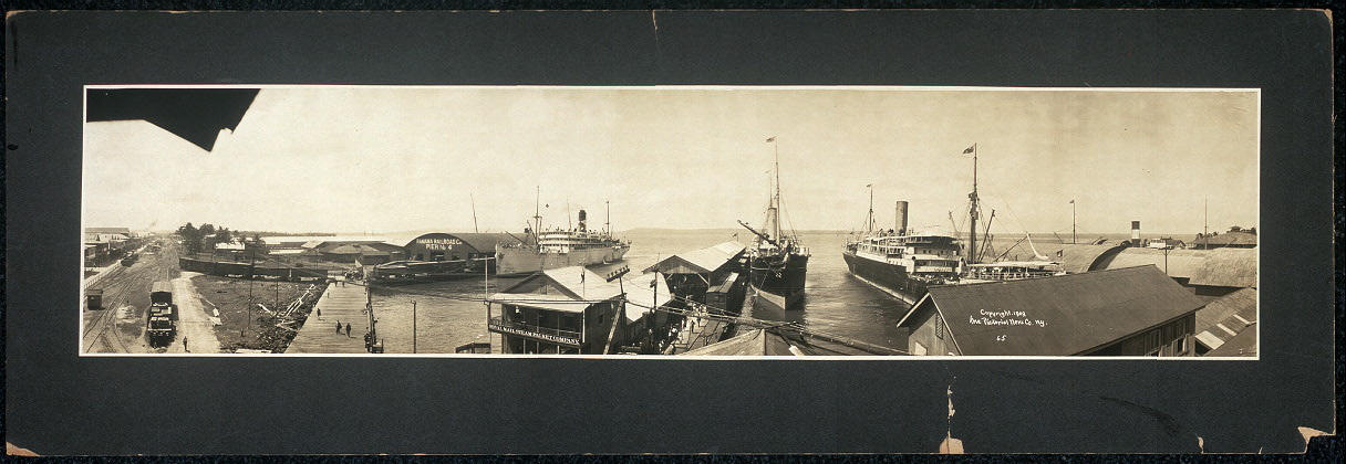 [Panoramic view of P.R.R. Co.'s Pier #4]