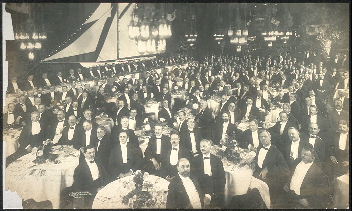Banquet in honor of Sir Thomas Lipton, given by the Mayor and citizens of Milwauk [sic] at Hotel Pfister, Milwaukee