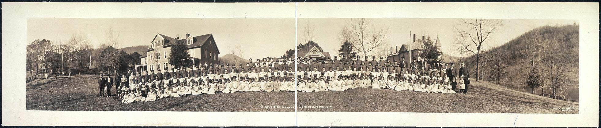 Indian School, Cherokee, N.C.