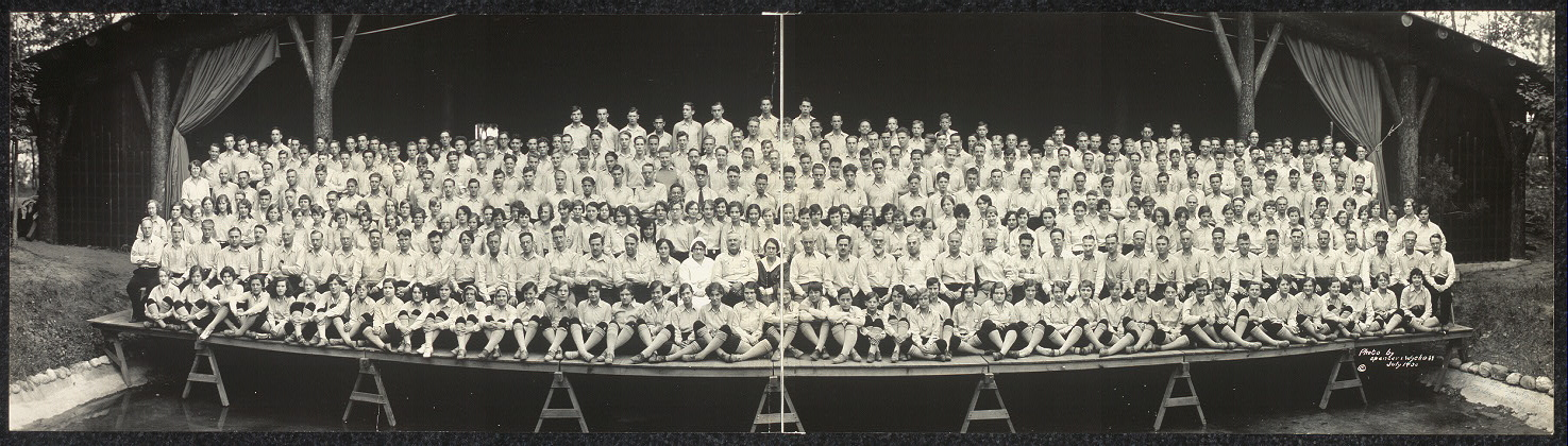 Personnel of National High School Orchestra, Interlochen, Mich., 1930