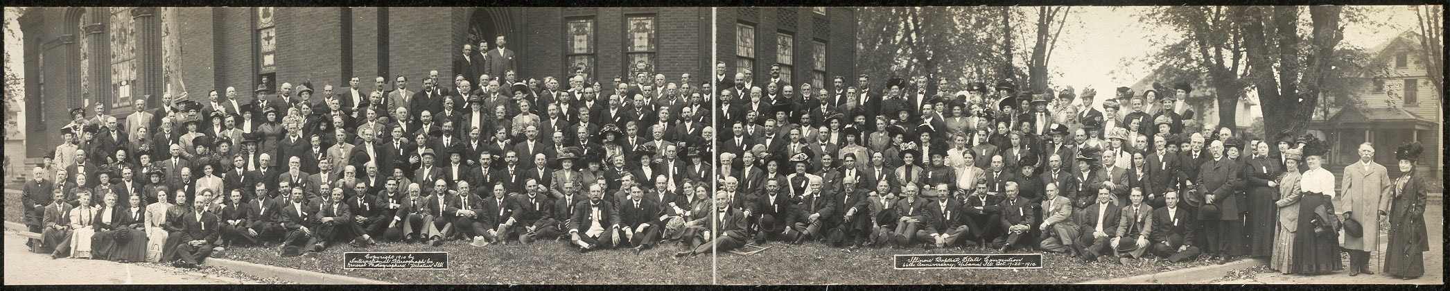 Illinois Baptist State Convention, 66th anniversary, Urbana, Ill., Oct. 17-20, 1910