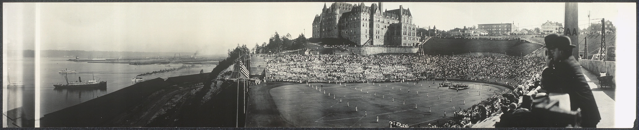 Stadium Day, Annual Outdoor Exhibition, Public Schools, Tacoma, Wash., May 29, 1913