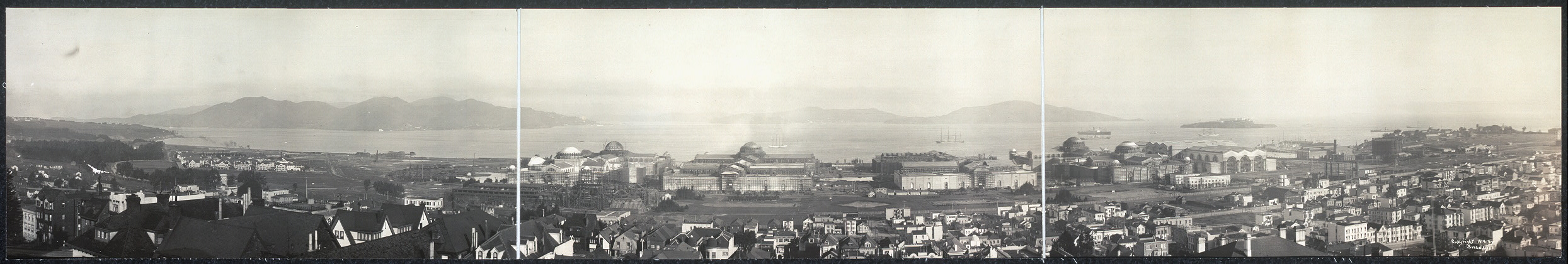 Exhibition grounds at San Francisco, Feb. 20, 1914