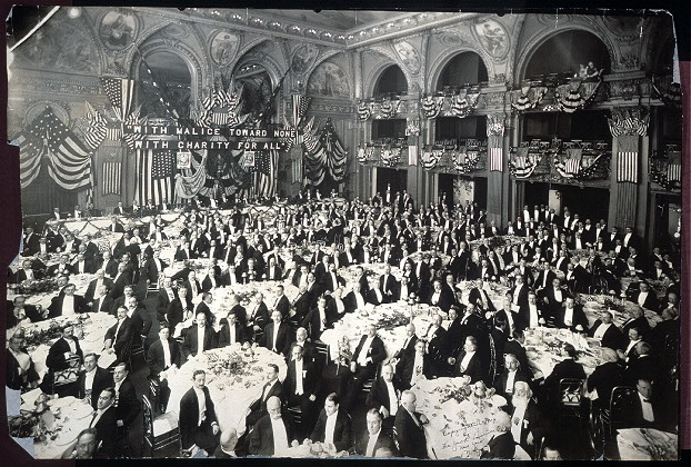 [Twenty-fourth Lincoln dinner of the Republican Club of the City of New York, Waldorf-Astoria Hotel, Feb. 12, 1910]