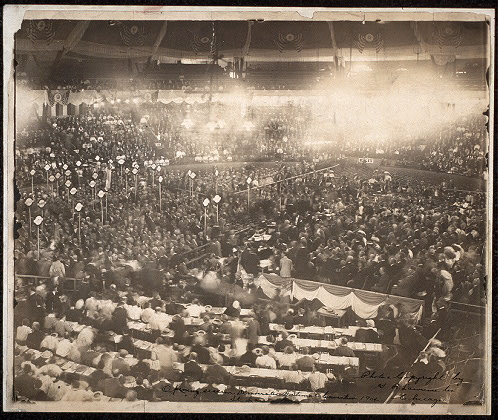 Opening session, Democratic National Convention, 1904, St. Louis, Mo.