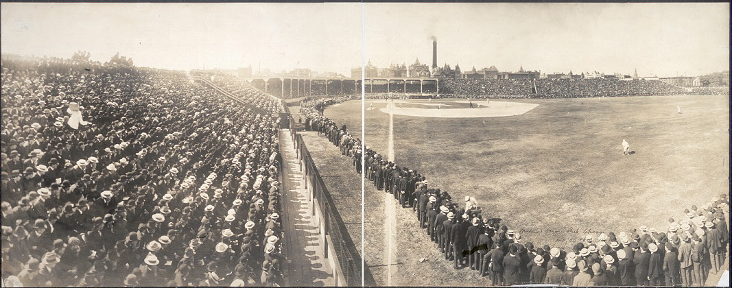 National League Park, Chicago, July 23 thd, 1904