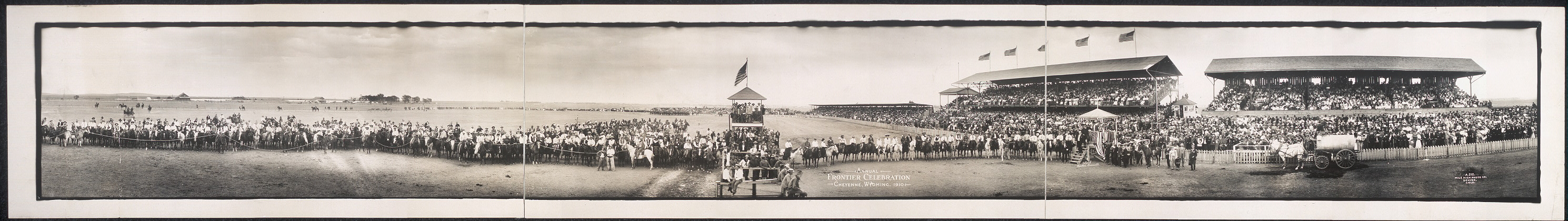 Annual Frontier Celebration, Cheyenne, Wyoming, 1910